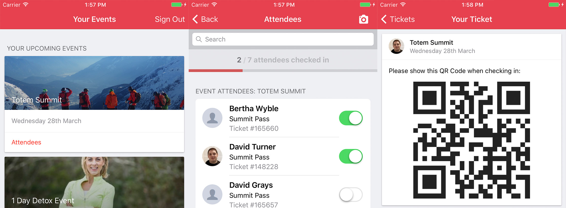 Get Invited Mobile App